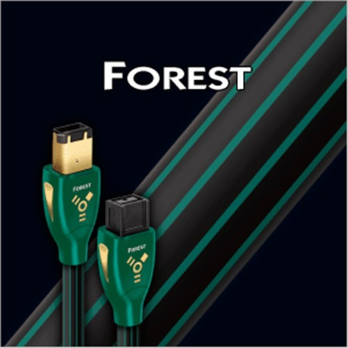 Forest FireWire 1.5m 6-9Pin Cable Solid 0.5% Gold Plated AudioQuest