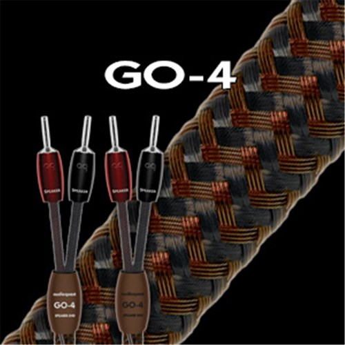 Go-4 Speaker Cable 1m SINGLE ** Factory Prepared ** AudioQuest