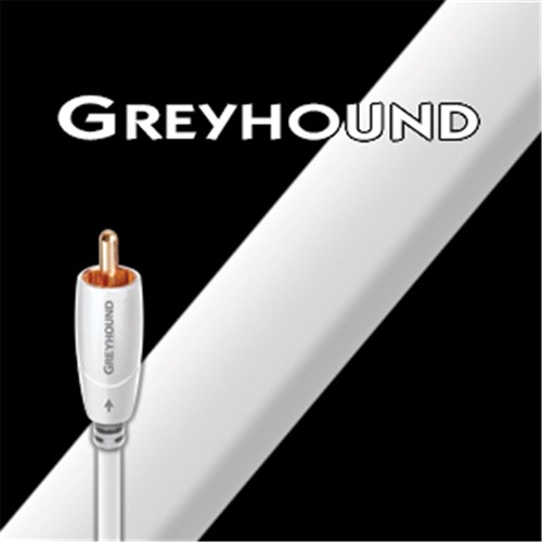 Greyhound Subwoofer Cable 8m Slim cable 0.5% silver White AudioQuest