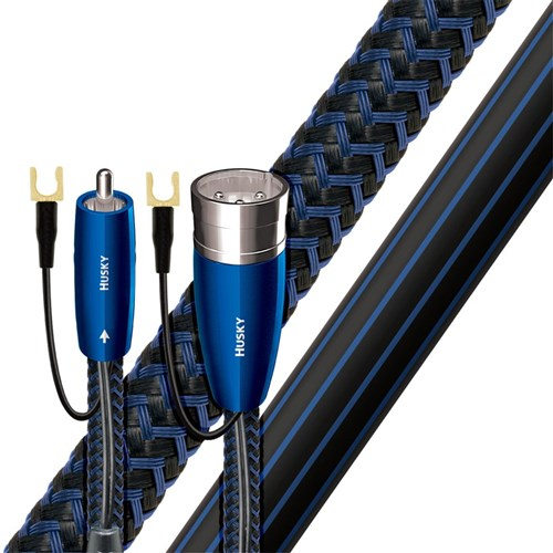 Husky Subwoofer Cable 12m XLR-XLR with Earthing & DBS AudioQuest
