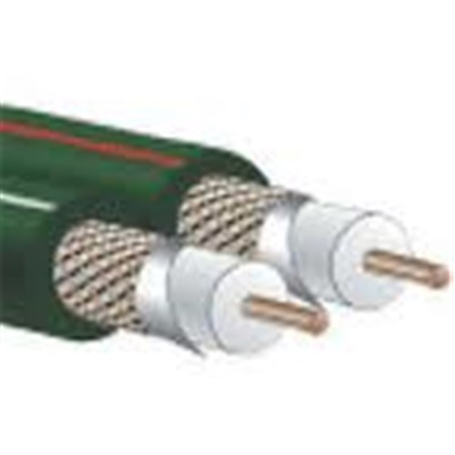 ITA3/3 2 Channel Audio 76m (250ft) 24AWG Green PVC Audioquest