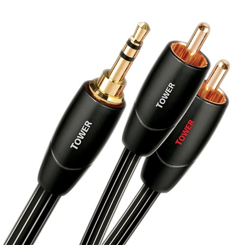 Tower Mini-RCA 1.5m Analogue LGC Audio Cable AudioQuest