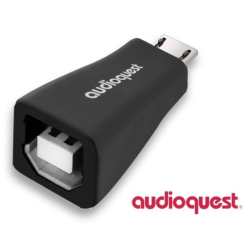 USB B to Micro Adaptor Single Pack AudioQuest