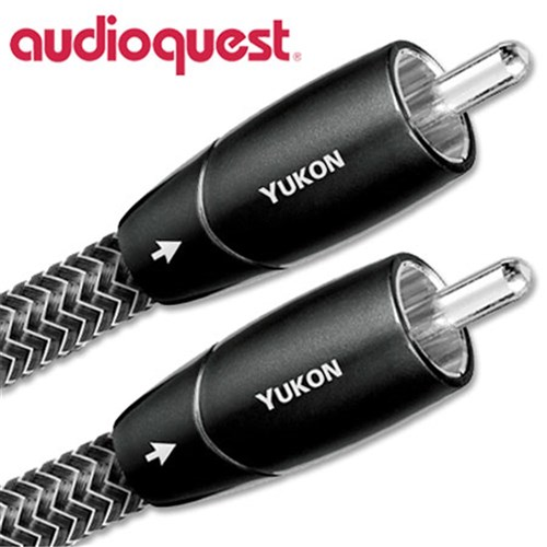 Yukon Analogue-Audio RCA 1.5m PSC+ Dark Grey/Black Braid AudioQuest (PAIR)