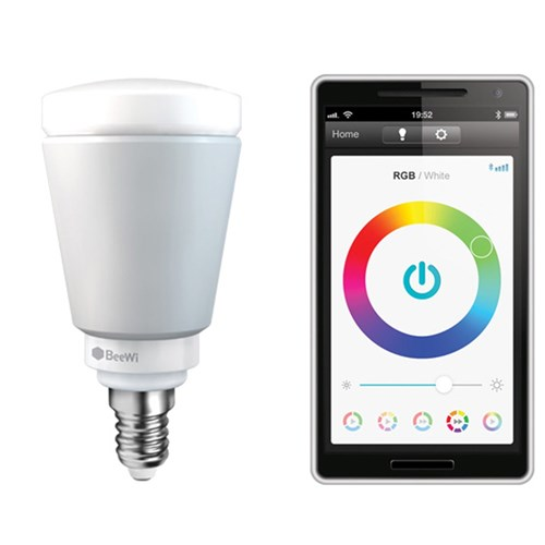 E14 5W Bluetooth Smart LED Colour Bulb BeeWi