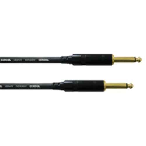 intro instrument cable 6m REAN gold 6.35mm TS