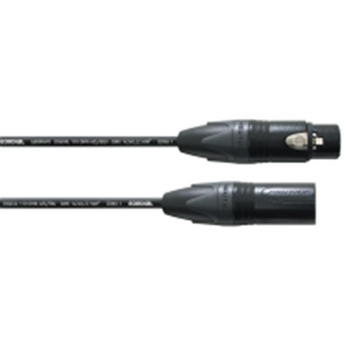 20m CDMX 1, Neutrik XLR female 5 pole black/XLR male 5 pole black