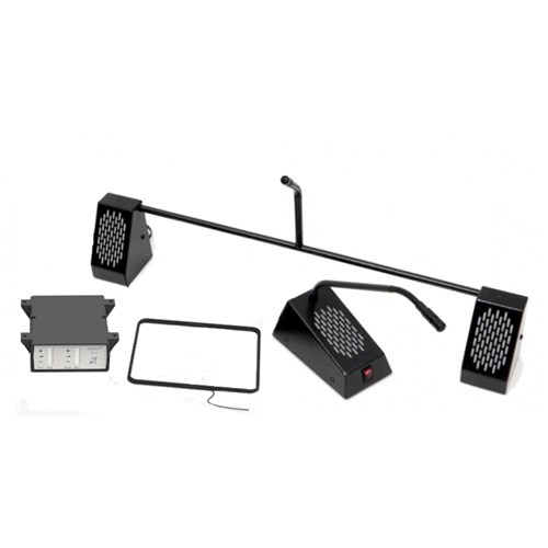 Bridge Bar Speech System Black-Kit