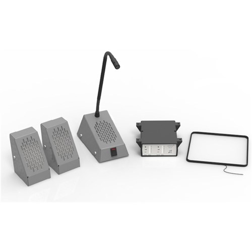 Surface Mount Speech System  Grey - Kit