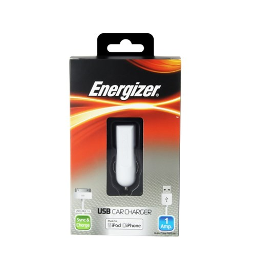 Car Charger CL USB iPhone (30pin) Energizer