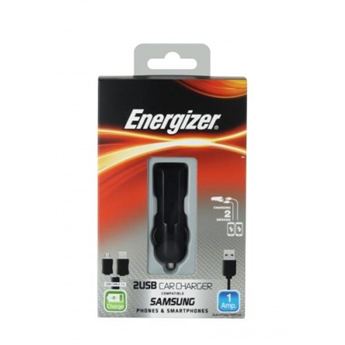 Car Charger CL 2USB Samsung Energizer