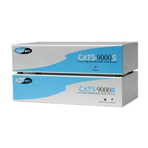 EXT-CAT5-9000 Extends VGA PS/2 RS232 & audio up to 100m via 3 Cat-5e Cables Gefen