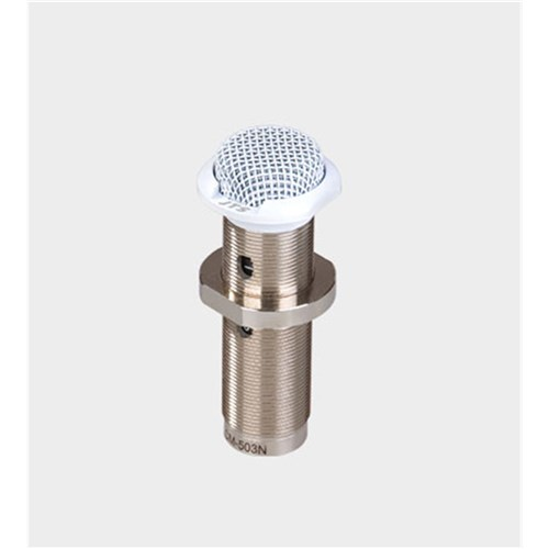 In-surface boundary mic white omnidirectional pattern