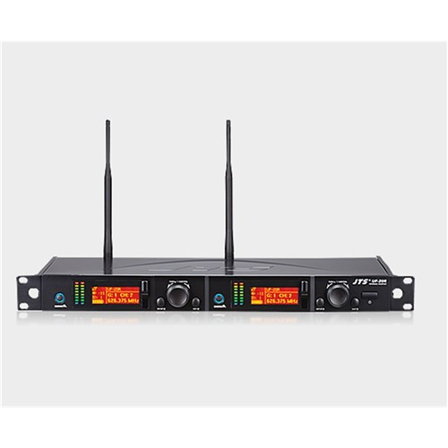 UF-20R receiver 624-694MHz 2 channels, 1 RU cascading antennas and power