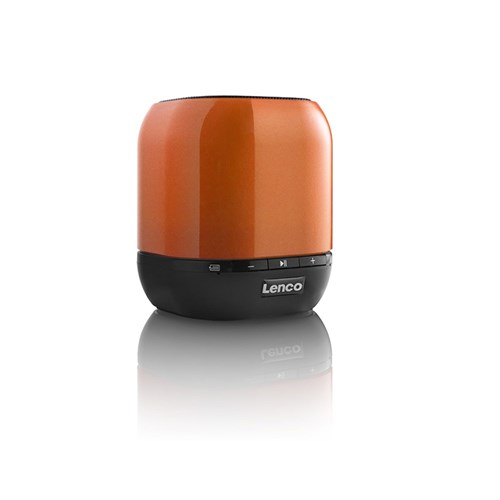 Lenco Battery Powered Bluetooth Speaker ORANGE Lenco