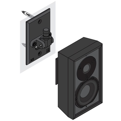 DS Flexmount Bracket to suit Detail Series Leon Speakers