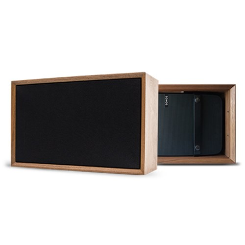 TC5S ToneCase Walnut cabinet to house SONOS PLAY:5 Leon Speakers
