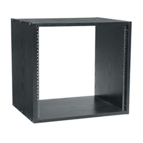 BRK 8RU Black Laminate Rack, 457mm depth Middle Atlantic