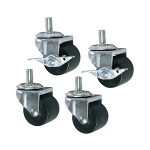Casters to suit MMR Series Non-locking, Set of 4 Middle Atlantic Essex
