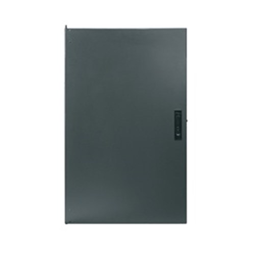 10RU Solid Locking Door Front or Rear Mount, Charcoal Middle Atlantic Essex