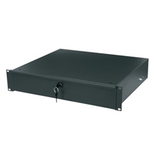 Essex 2RU Rack Drawer with lock Middle Atlantic