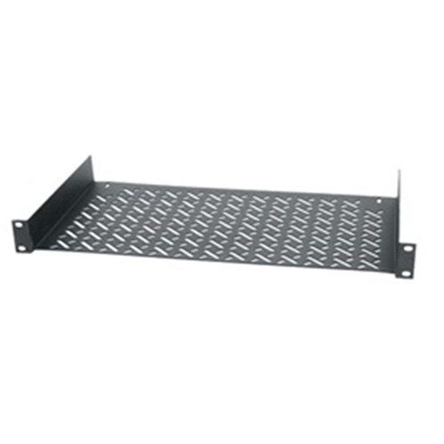 1RU Shallow Depth Rackshelf 254mm Deep Middle Atlantic