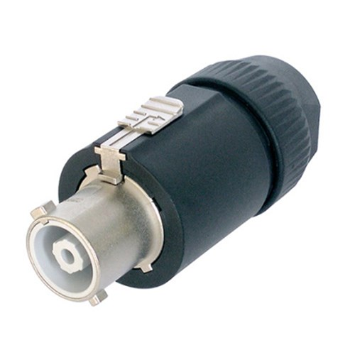 32A POWERCON LINE CONNECTOR LOCKING, BLACK