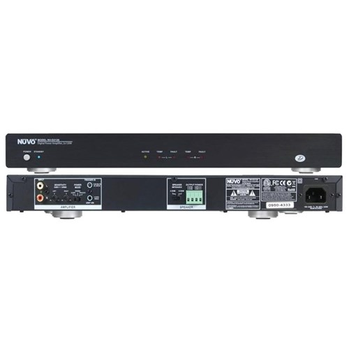 D2120 2x120W Digital Power Amp NuVo
