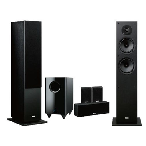 Onkyo SKS-HT4800B 5 1 Speaker Package with Active Sub