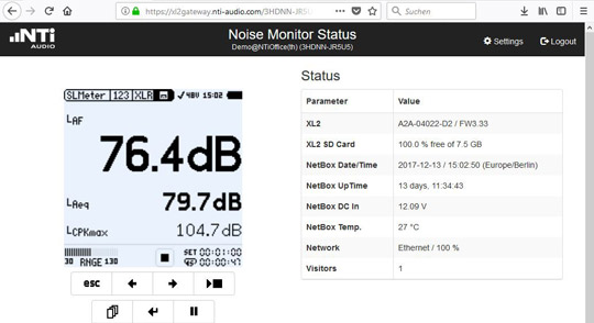 NetBox with Modem