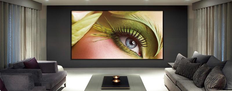16:9 Zero Fixed Frame HD130 Screen