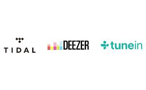 tidal-deezer-tunein radio